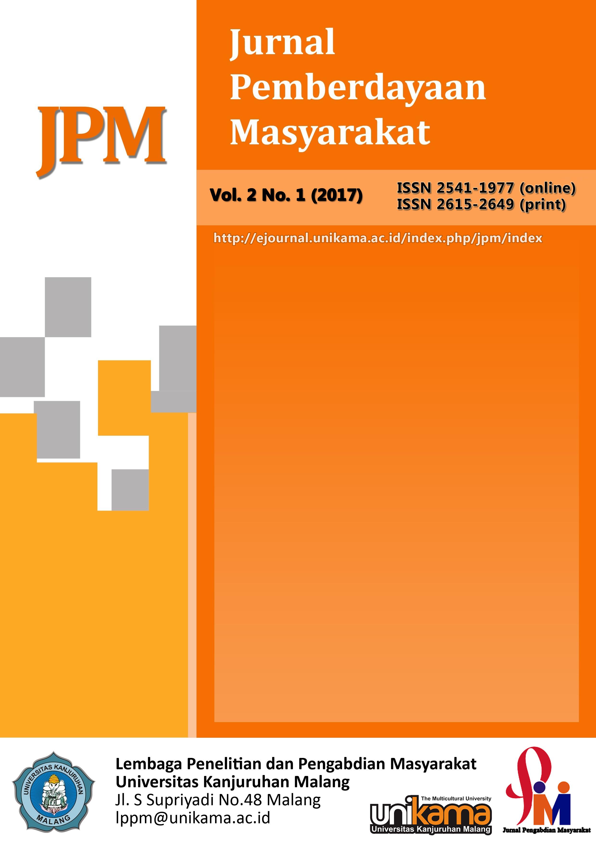 JPM (Jurnal Pemberdayaan Masyarak) UNIKAMA