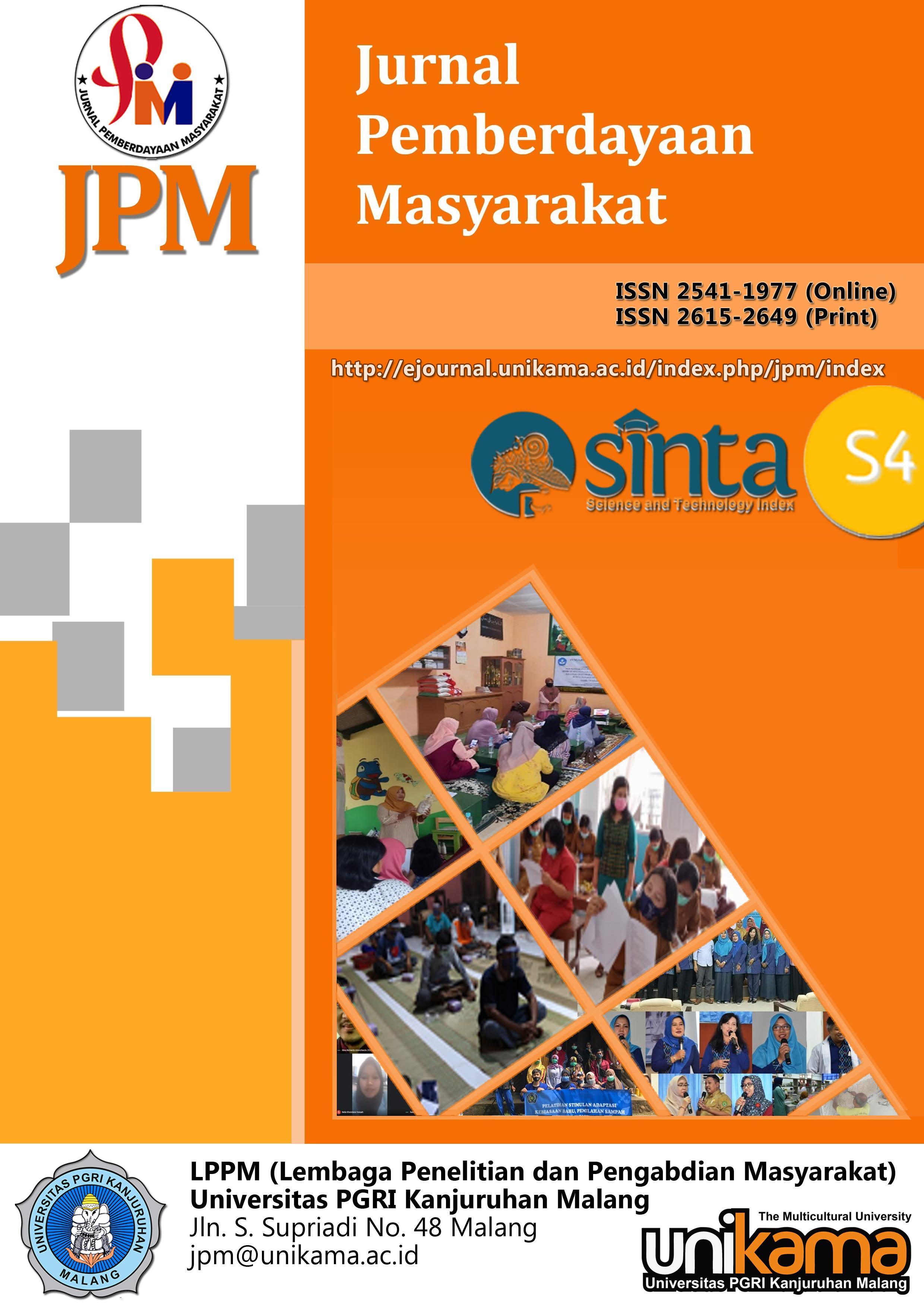 JPM (Jurnal Pemberdayaan Masyarakat) 2020 UNIKAMA