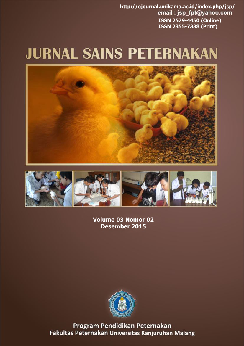 The Effect of Fermentation Soybean and Cassava Waste by